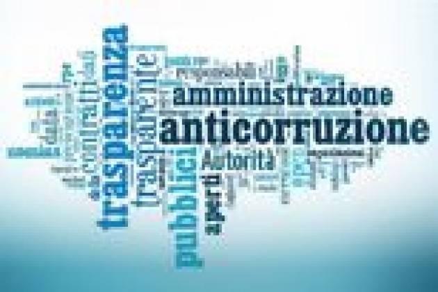 Lodi - Approvato l'aggiornamento del piano anticorruzione