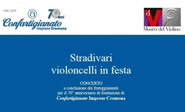 MDV Cremona Stradivari  violoncelli in festa