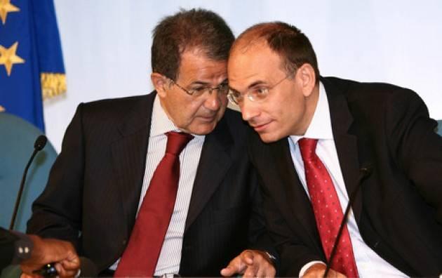 Sono d'accordo con Prodi e Letta : la scissione nel PD è un suicidio di Gian Carlo Storti