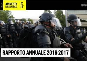 Amnesty Il rapporto 2016-2017 . Sotto accusa le politiche della demonizzazione