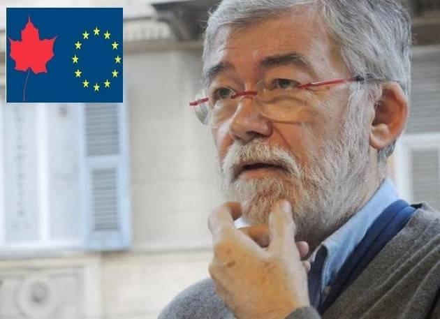 Sergio Cofferati Ceta Continuare la mobilitazione contro un accordo commerciale negativo