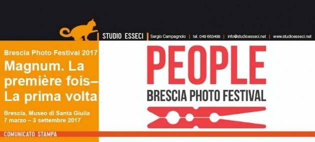 Brescia Photo Festival 2017 People  Museo di Santa Giulia, MOCA e altre sedi