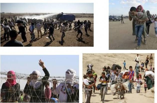 Amnesty L'Onu conferma: operazioni militari Turche mettono in fuga mezzo milione di Curdi