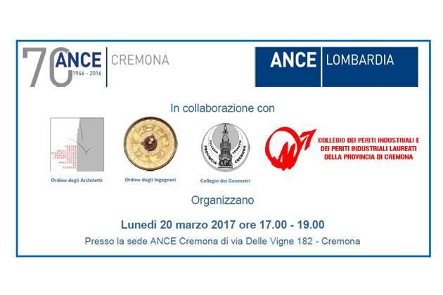 Cremona ance luned seminario sulla legge regionale di for Recupero seminterrati lombardia