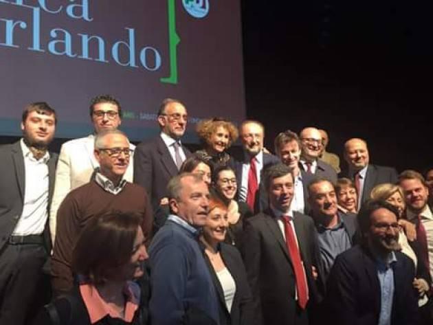 (Video) Una delegazione cremonese con Andrea Orlando a Milano