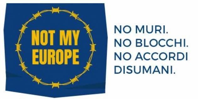 Amnesty MOBILITAZIONE NOT MY EUROPE  60 ANNI TRATTATI DI ROMA