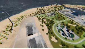 Isola artificiale per produrre energia green  Un progetto green per ridurre la CO2