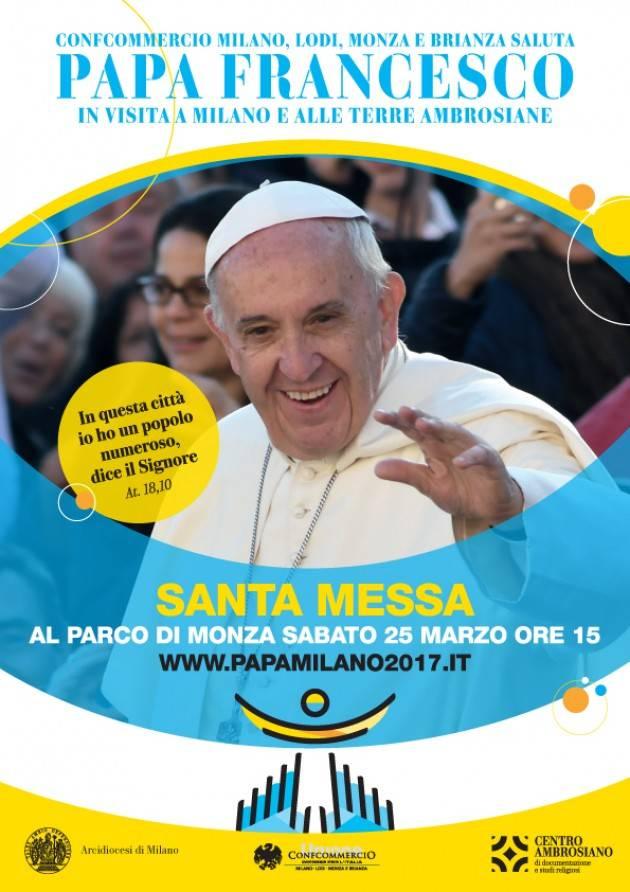 La visita di Papa Francesco a Monza