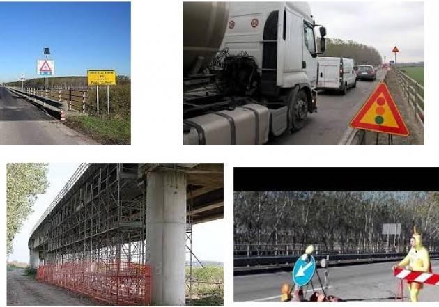 Chiusura totale  ponte 'Giuseppe Verdi' di S. Daniele Po  dal 2 maggio 2017 per almeno  due mesi