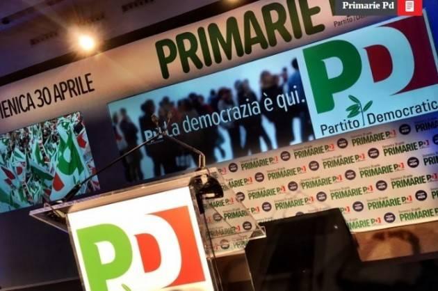PD Verso le primarie del 30 aprile : Renzi, Orlando ed Emiliano in corsa per l'ultimo miglio.