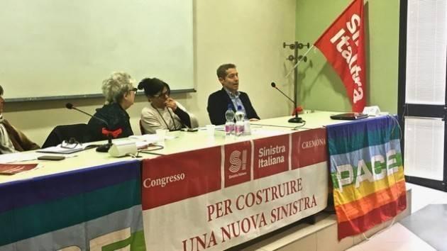 (Video) Cremona Lapo Pasquetti (Sin.Ita.) Incolmabili le distanze con il PD. Però stiamo con Bonaldi e Galimberti.