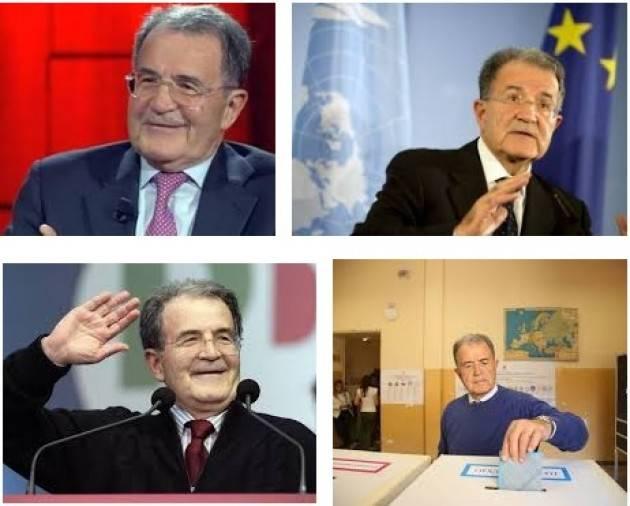 AccaddeOggi 10 aprile  2006 Romano Prodi vince le elezioni con una coalizione di centrosinistra