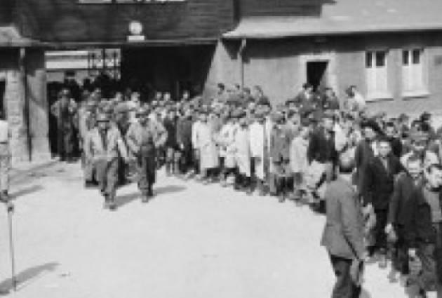 AccaddeOggi 11 aprile  1945 Forze statunitensi liberano il campo di concentramento di Buchenwald