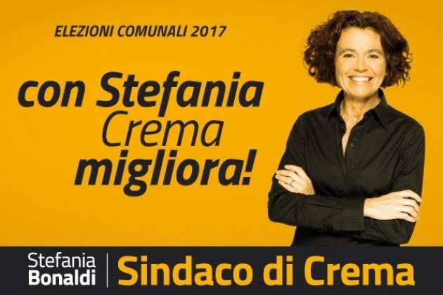 Stefania Bonaldi Il nostro programma non conterrà l'impegno a realizzare la moschea a Crema