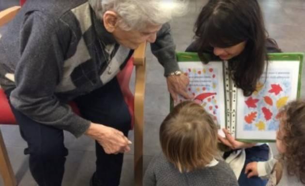 Pianeta Anziani Cisl  A Piacenza il primo spazio dove anziani e bambini crescono insieme
