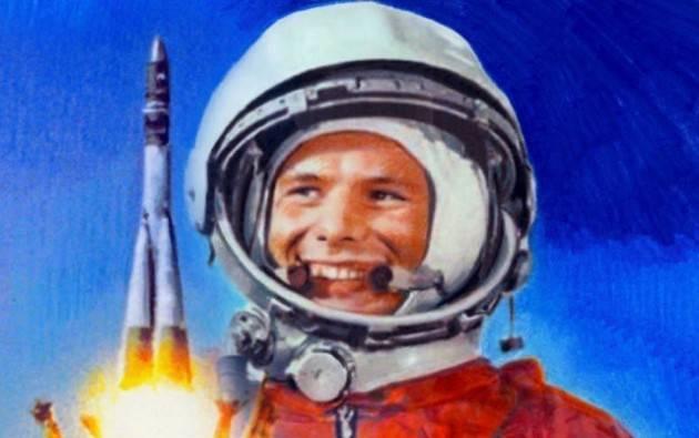 AccaddeOggi 12 aprile 1961 - URSS, il cosmonauta Yuri Gagarin è il primo uomo nello spazio