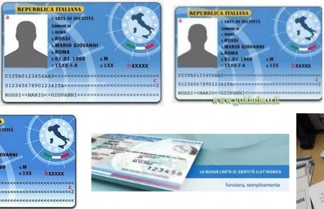 Carta d identit elettronica da luglio anche a crema for Carta soggiorno 2017