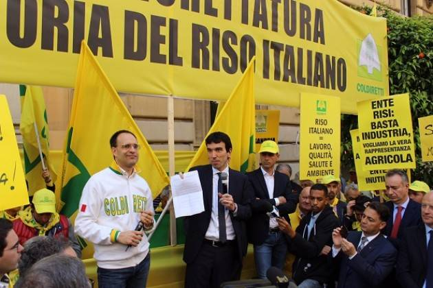 Riso : Coldiretti, on Ok a etichetta made in Italy solo 1/3 spesa anonima