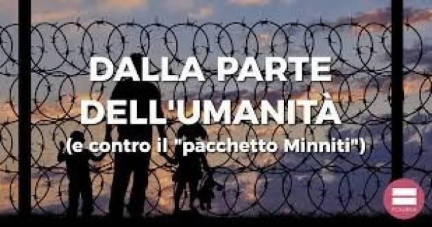 Il decreto Minniti sull'immigrazione introduce l apartheid di Beppe Sini