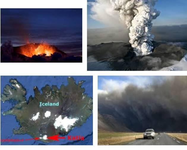 AccaddeOggi 14 aprile 2010 – Islanda: Dopo molti anni erutta il vulcano Eyjafjallajökull,