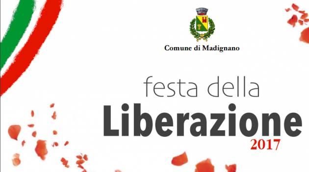 25 aprile : la Liberazione a Madignano