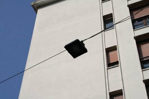 Pali per illuminazione pubblica in vetroresina: illuminazione per