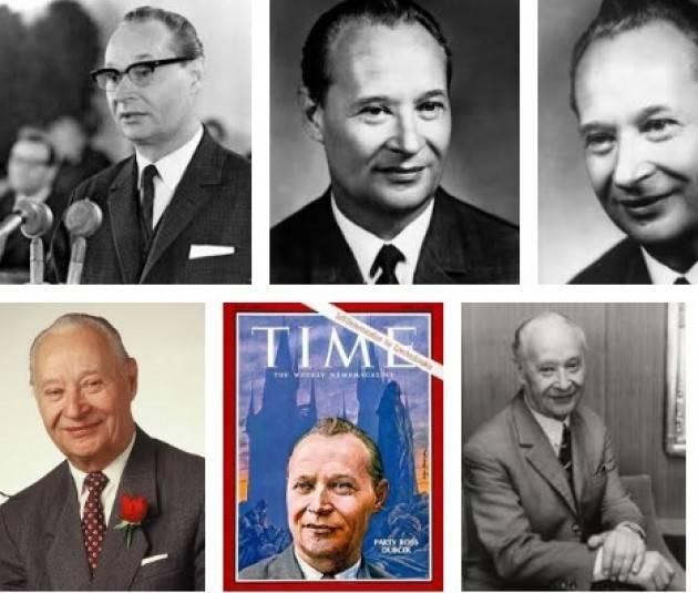 AccaddeOggi 17 aprile 1969- Il presidente PC  Cecoslovacchia, Alexander Dubcek, viene deposto