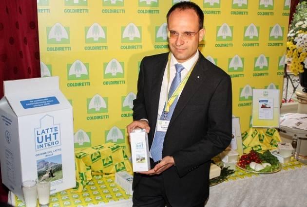 Latte : Coldiretti Con Ok a Etichetta made in Italy solo un terzo spesa anonima