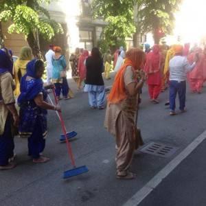 Si è svolta ,sabato22 aprile, a Cremona la tradizionale 'Festa di Primavera'della comunità Sikh