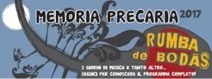 Memoria Precaria  il 24 e 25 aprile 2017 piazze Vittorio Veneto a Erba
