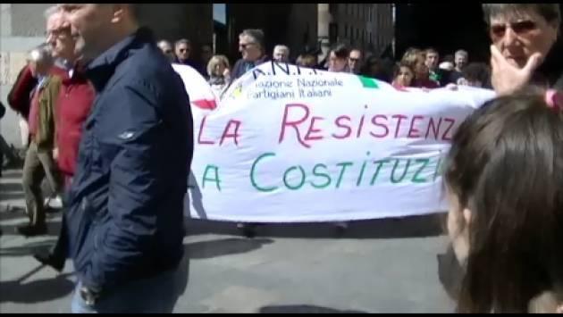 (Video) Cremona  Il 25 aprile ,Festa della Liberazione  fra interviste e ricordi  dal 2012 ad oggi