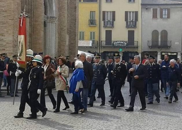 Crema L'intervento di Stefania Bonaldi  per il 72° anniversario Liberazione
