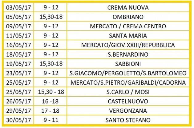Stefania Bonaldi parte con il tour nei quartieri di Crema : il calendario