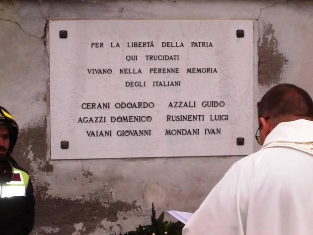 L'EcoStoria La commemorazione dei caduti antifascisti di Bagnara