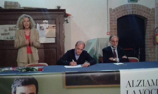 (Video) Monica Cirinnà a Cremona  spiega i motivi del suo sostegno ad Andrea Orlando segretario nazionale del PD