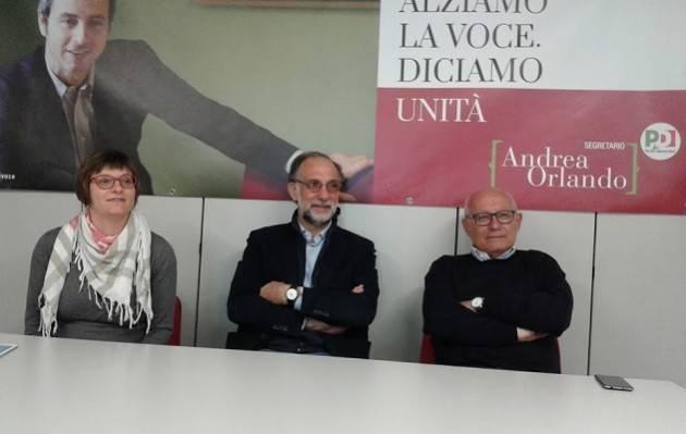 (Video) Primarie PD Gli ultimi appelli: Pizzetti per Renzi; Bodini,Pontiggia e Rotelli per Orlando