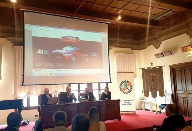 Brescia Presentata la 41° edizione del Rally Mille Miglia