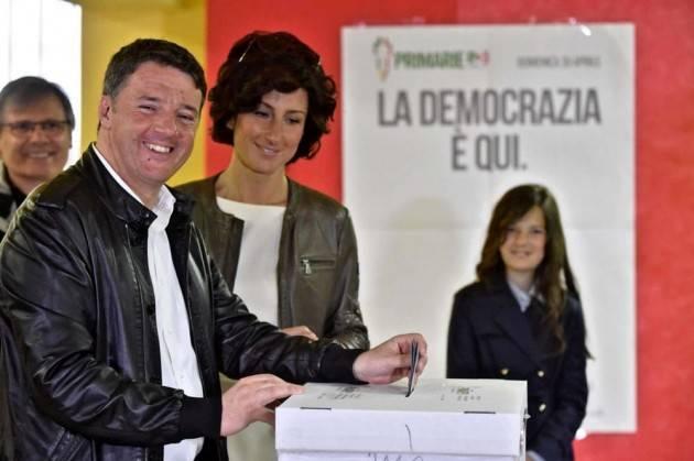 Dopo la vittoria di Renzi alle Primarie , quale PD? Di Gian Carlo Storti