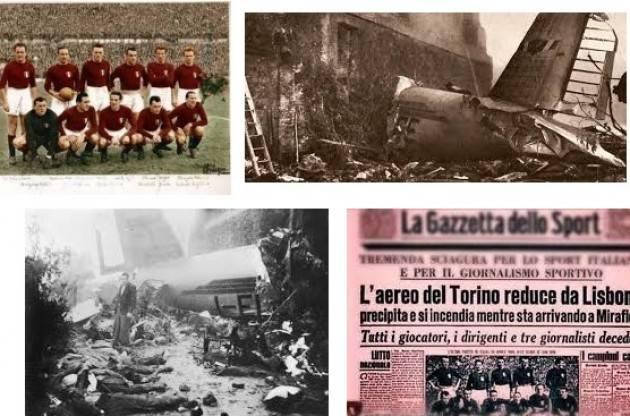 La tragedia di Superga del 4 maggio 1949 di Giorgino Carnevali