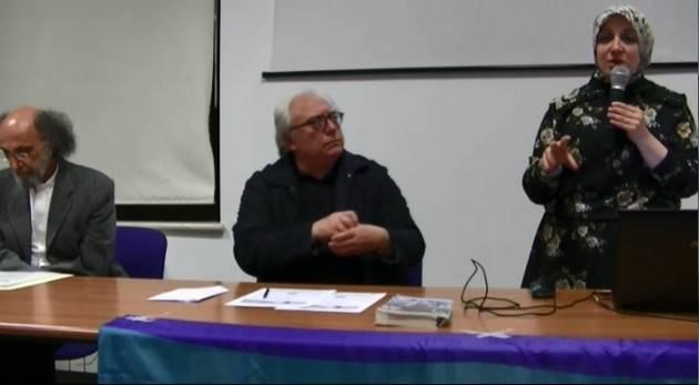 (Video) Cremona Straordinaria partecipazione alla serata sulla Siria con  Asmae Dachan e Mauro Ferrari