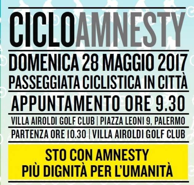 Palermo 'STO CON AMNESTY PIU' DIGNITA' PER L'UMANITA'