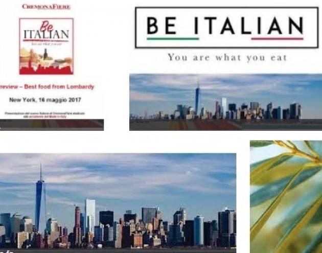 'Be Italian', Fava: a New York il meglio dedicato alle eccellenze lombarde a tavola