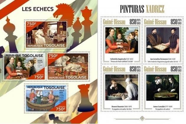 Filatelia La cremonese Sofonisba Anguissola in molti francobolli | Giorgio Barbieri