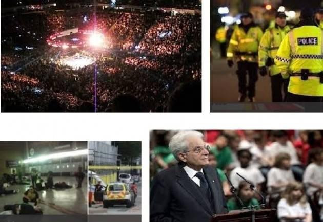 Attentato a Manchester : Mattarella scrive alla Regina Elisabetta