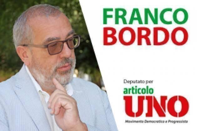 On.Franco Bordo (Democratici e Progressisti): A fianco dei Sindacati dell'Autotrasporto
