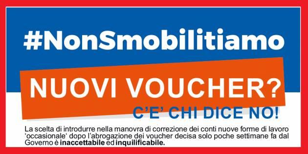 Cgil 'Nuovi voucher', nuova mobilitazione Tutti a Roma sabato 17 giugno
