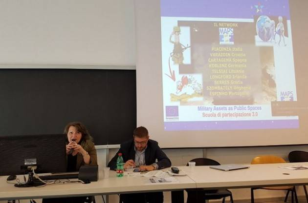 Piacenza PROGETTO MAPS  Military Assets as Public Spaces