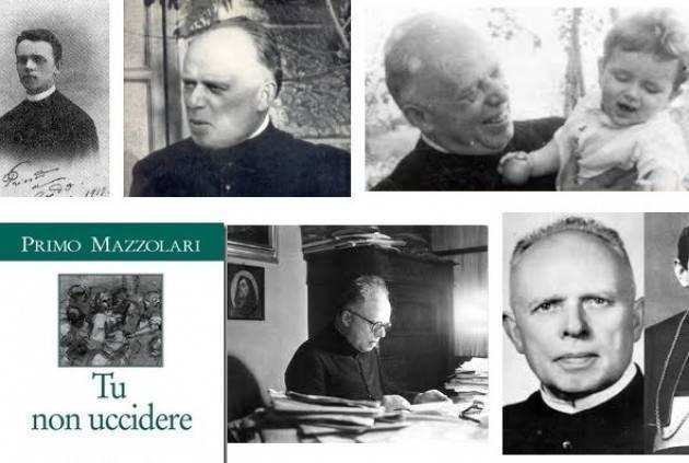 Attualità del pacifismo di don Primo Mazzolari Due iniziative a Cremona il 19 giugno