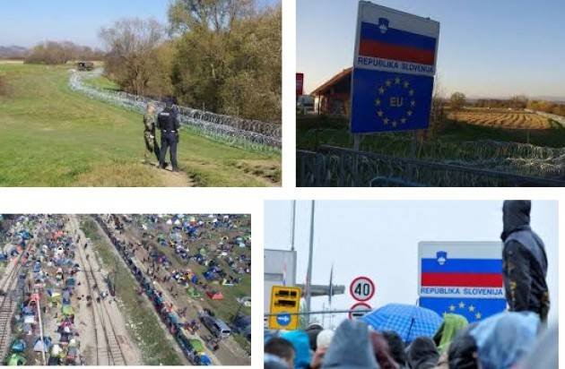 Spi-Cgil L'iniziativa Pensionati sulla rotta balcanica con i migranti per un'Europa più giusta e solidale