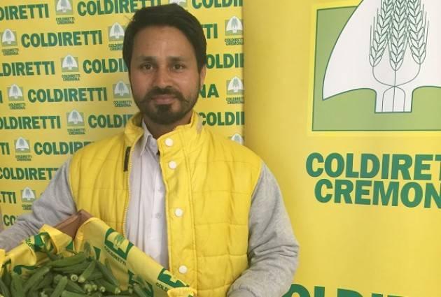 Coldiretti Oscar Green, Cremona con Kulwinder Singh (Casalmaggiore) vince nella categoria Agri You